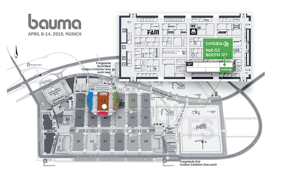 CM Labs at Bauma 2019: Booth C2.127